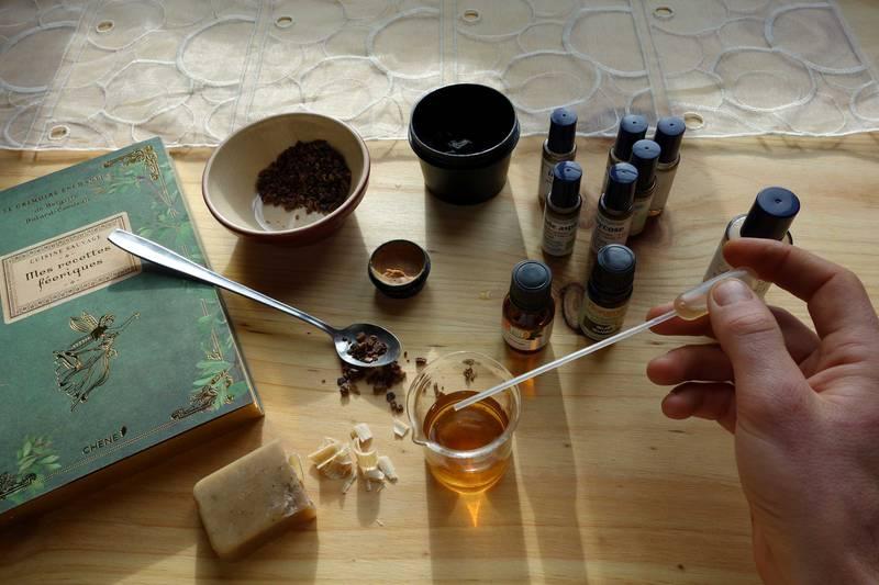 atelier baume huiles essentielles