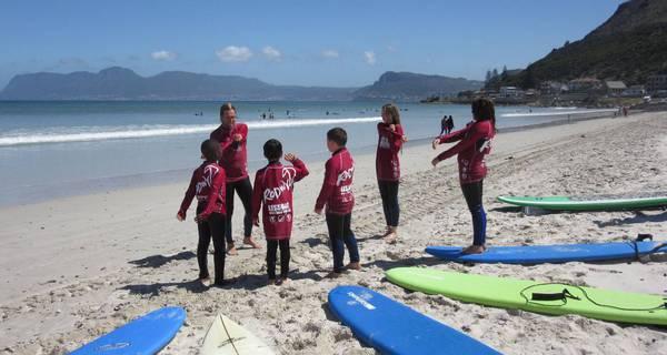 Surf réveillon Afrique du Sud