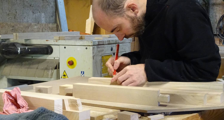 Carpentry worker