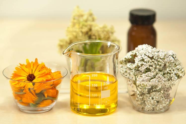 Extraits plantes et fleurs