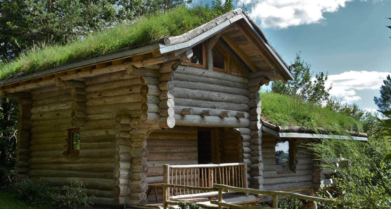 L'écogite la cabane de Hans en Corrèze