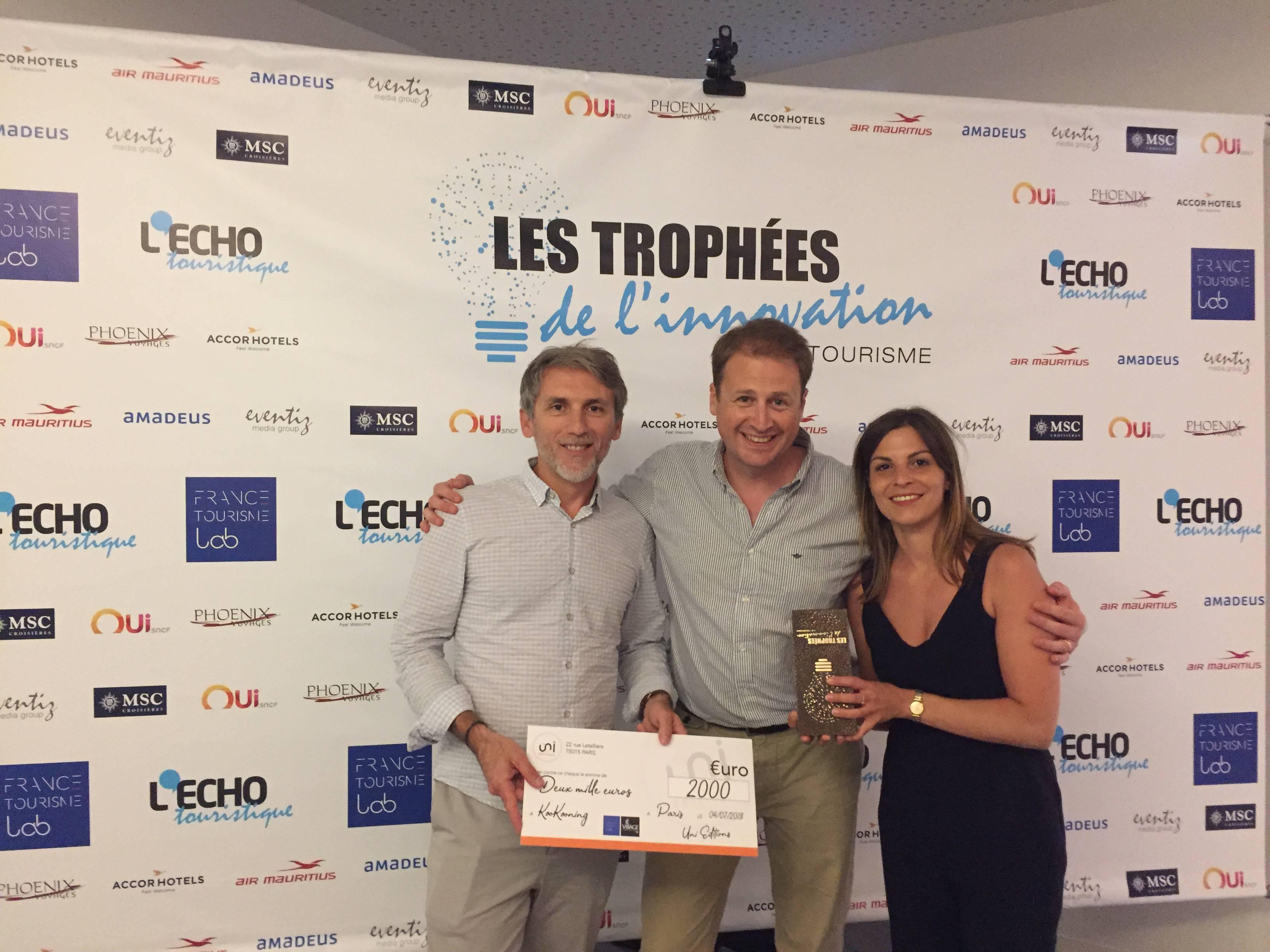 Trophee Innovation Touristique Open Tourisme Lab