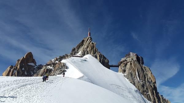 Tour du Mont Blanc Aiguille du Midi