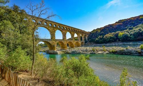séjour culturel au Pont du gard