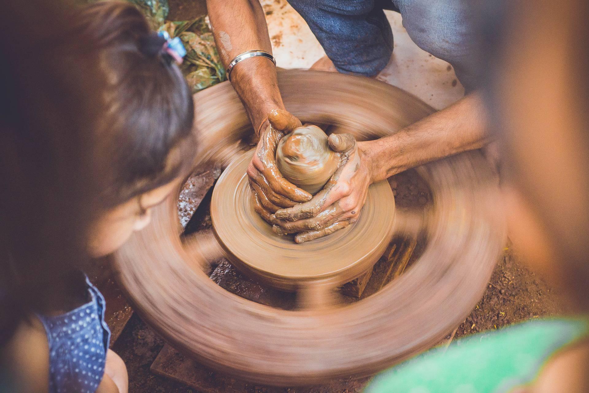 séjour et stage de poterie