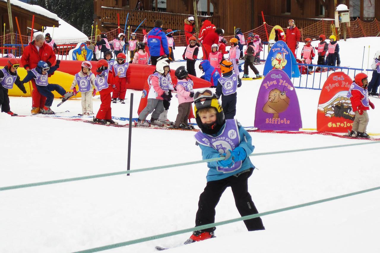 Station de ski familiale avec zone enfants