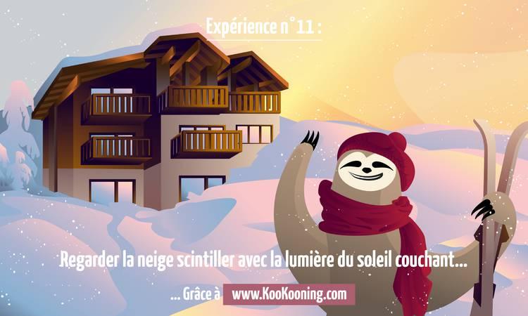 Découvrir Des cadeaux et de la neige...