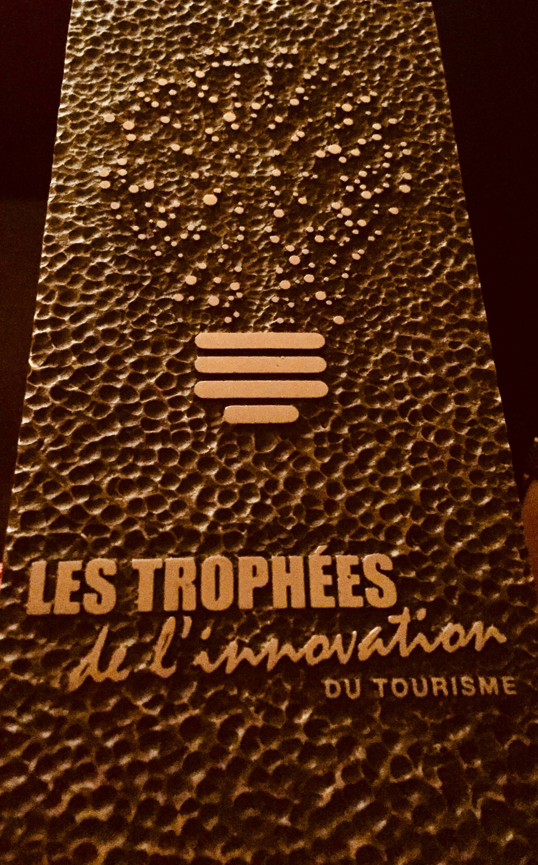 Trophee Innovation Touristique 2018