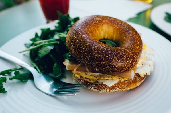 bagel tasting in the USA