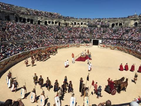 Roman Show in Nimes