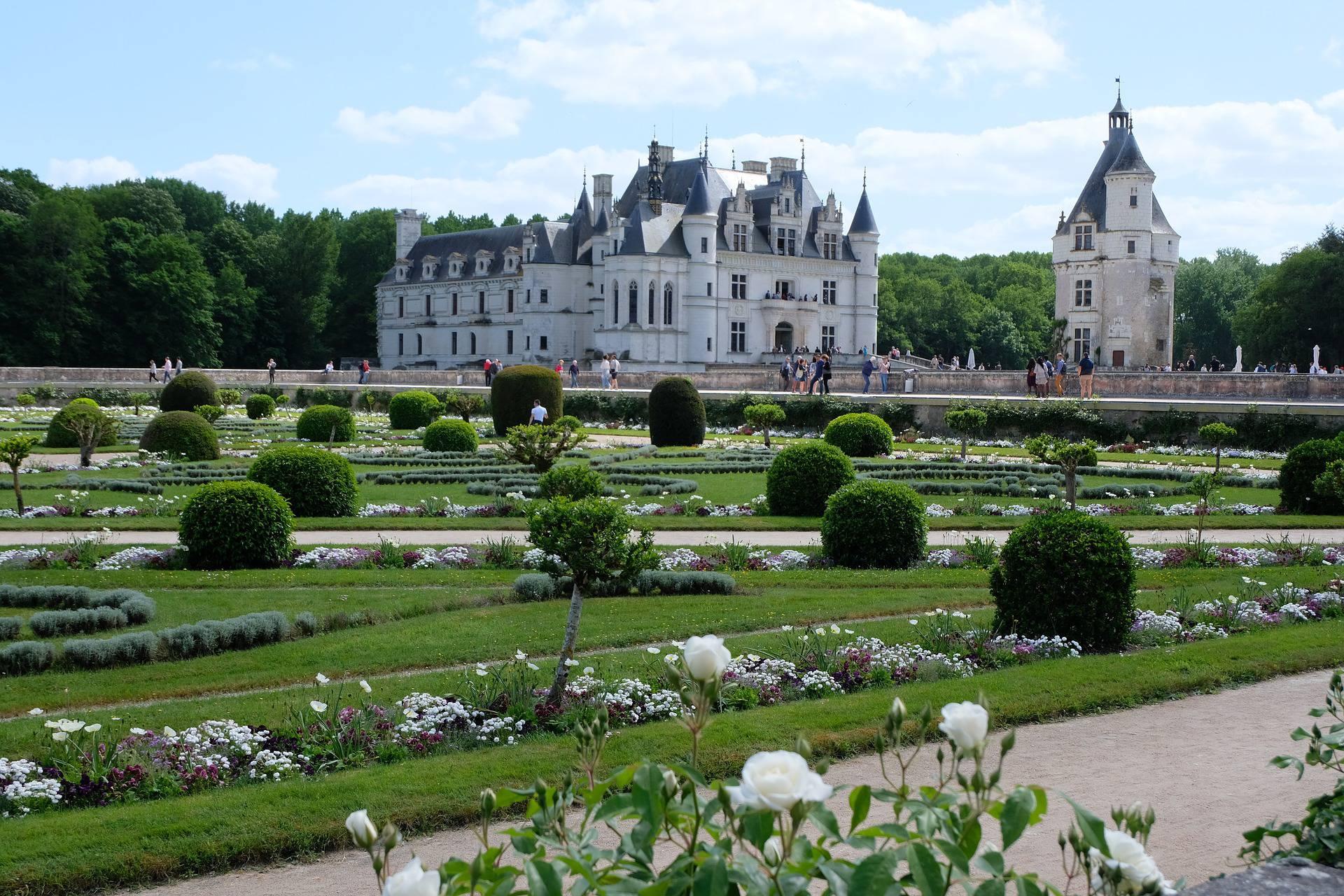 Jardin du château de Chenonceau