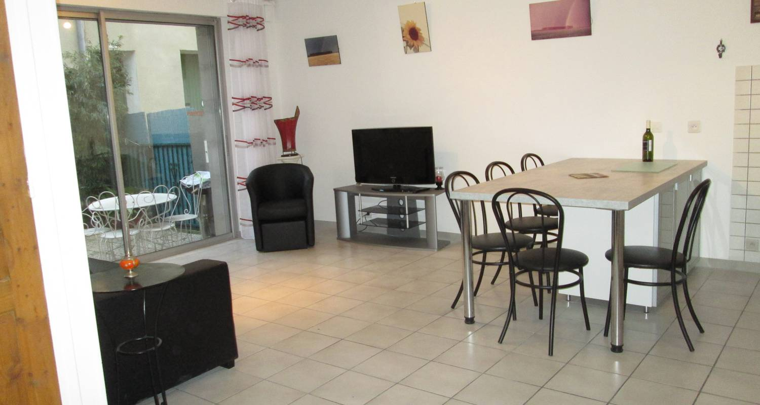 Furnished accommodation: maison-jardin perpignan à14km in corneilla-la-rivière (128507)