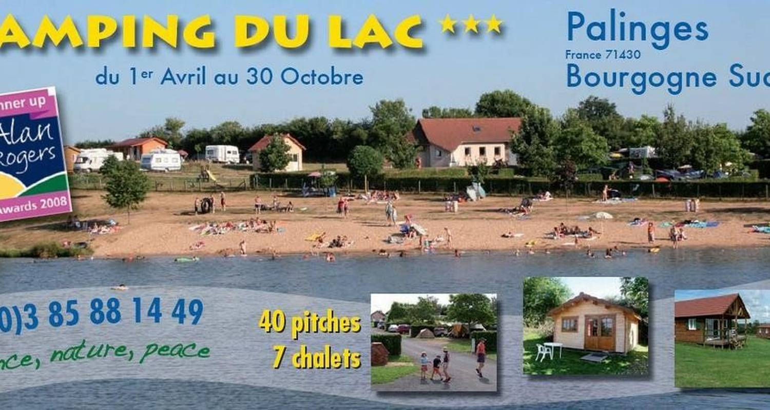 Camping pitches: camping du lac palinges in palinges (99658)