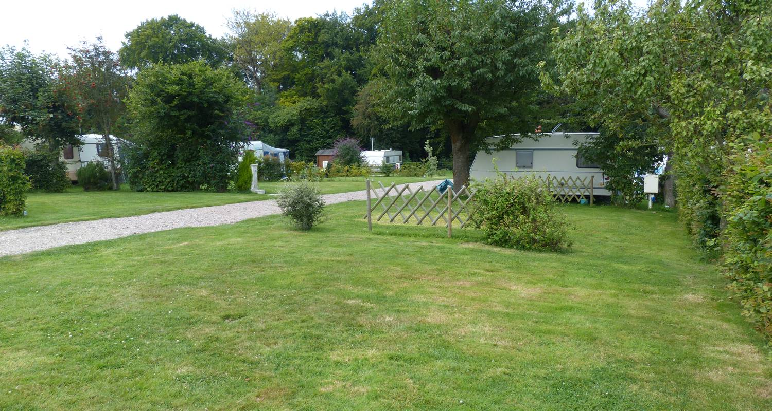 Camping pitches:  les garennes de la mer in le bourg-dun (120809)