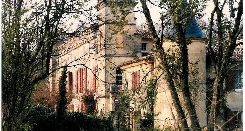 Amueblado: chateau sentout en tabanac (100029)