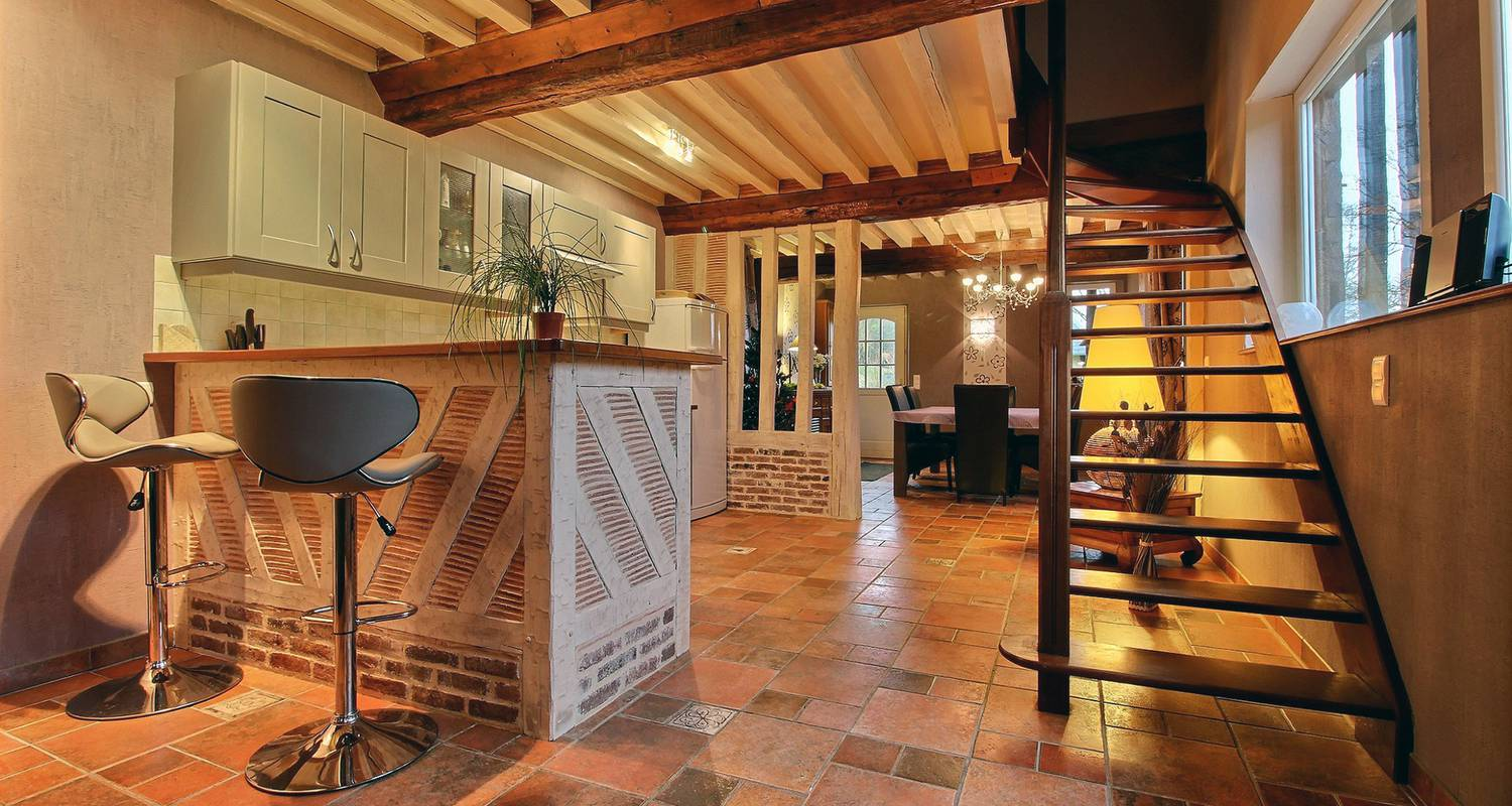 Furnished accommodation: les fermes de florence in les champeaux (129401)