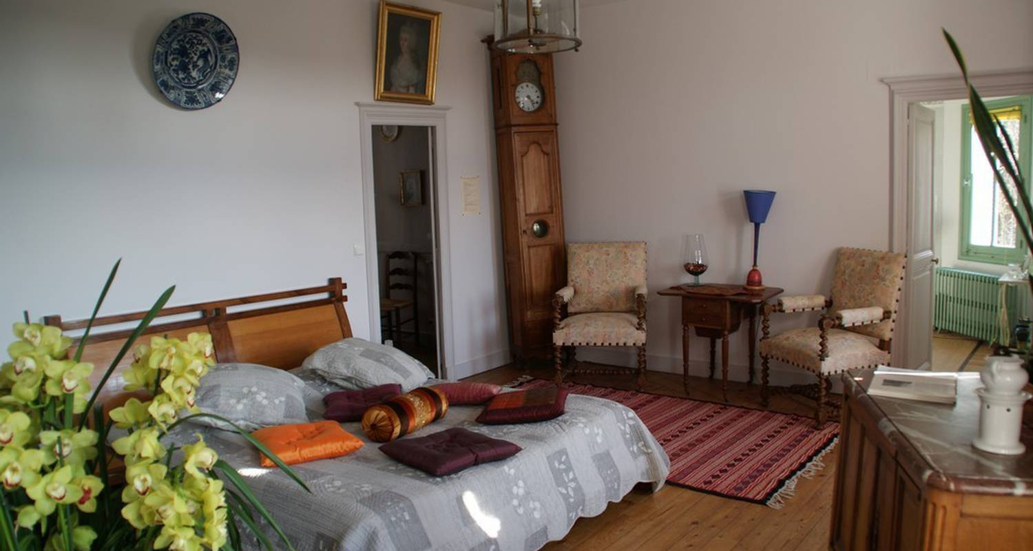 Bed & breakfast: chateau de vaugrignon in esvres (100275)
