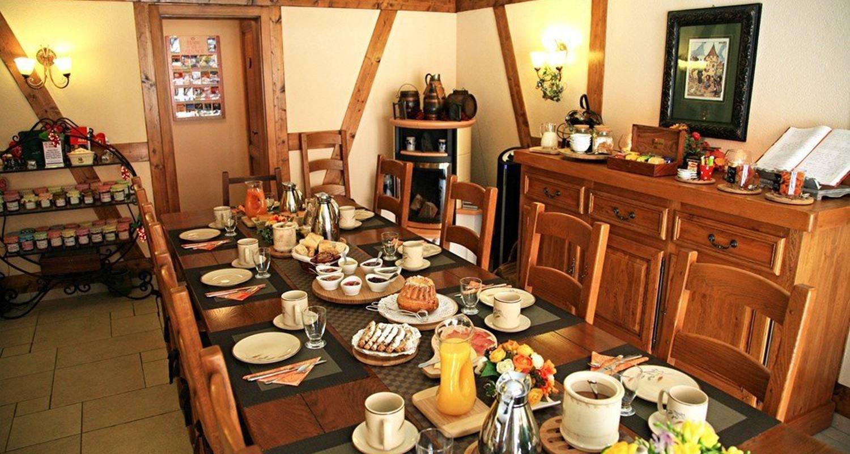 Chambre d'hôtes: le clos des raisins à beblenheim (100367)
