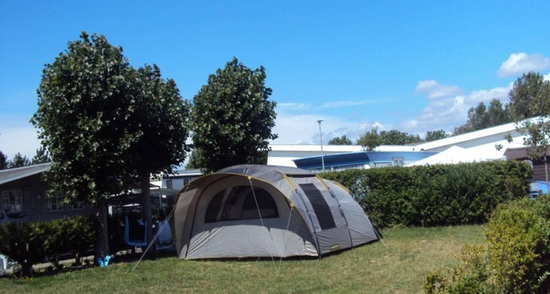 Emplacements de camping: la foret à cucq (100418)