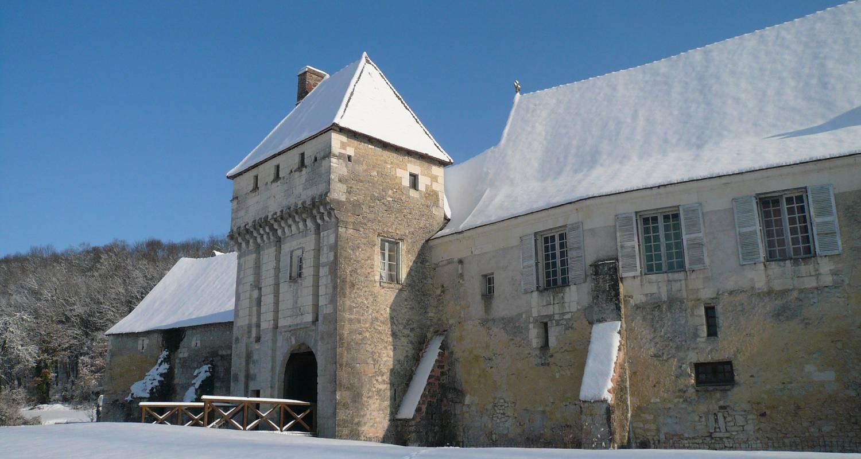 Chambre d'hôtes: château-monastère de la corroirie à montrésor (125084)