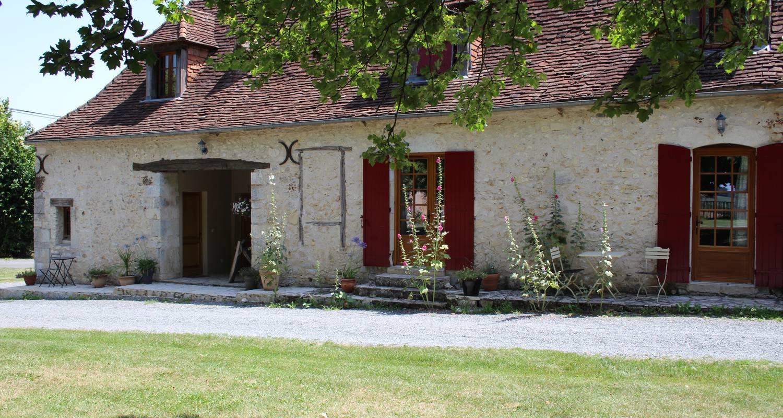 Habitación de huéspedes: les chambres de bonneval en fossemagne (100620)