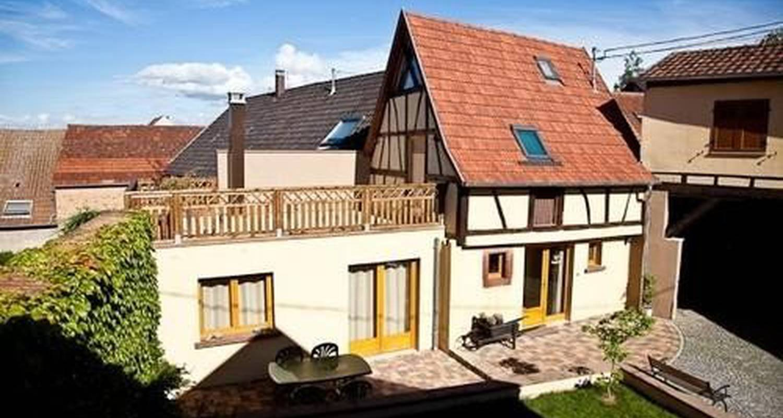 Gîte: la maison de pamela in dangolsheim (100917)