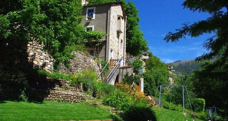 Gîte: côté terrasse à sainte-enimie (101506)
