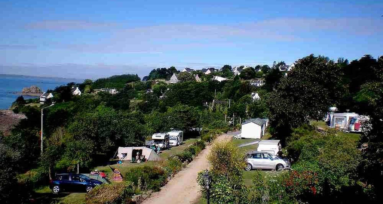 Emplacements de camping: camping de roz ar mor à trébeurden (101600)