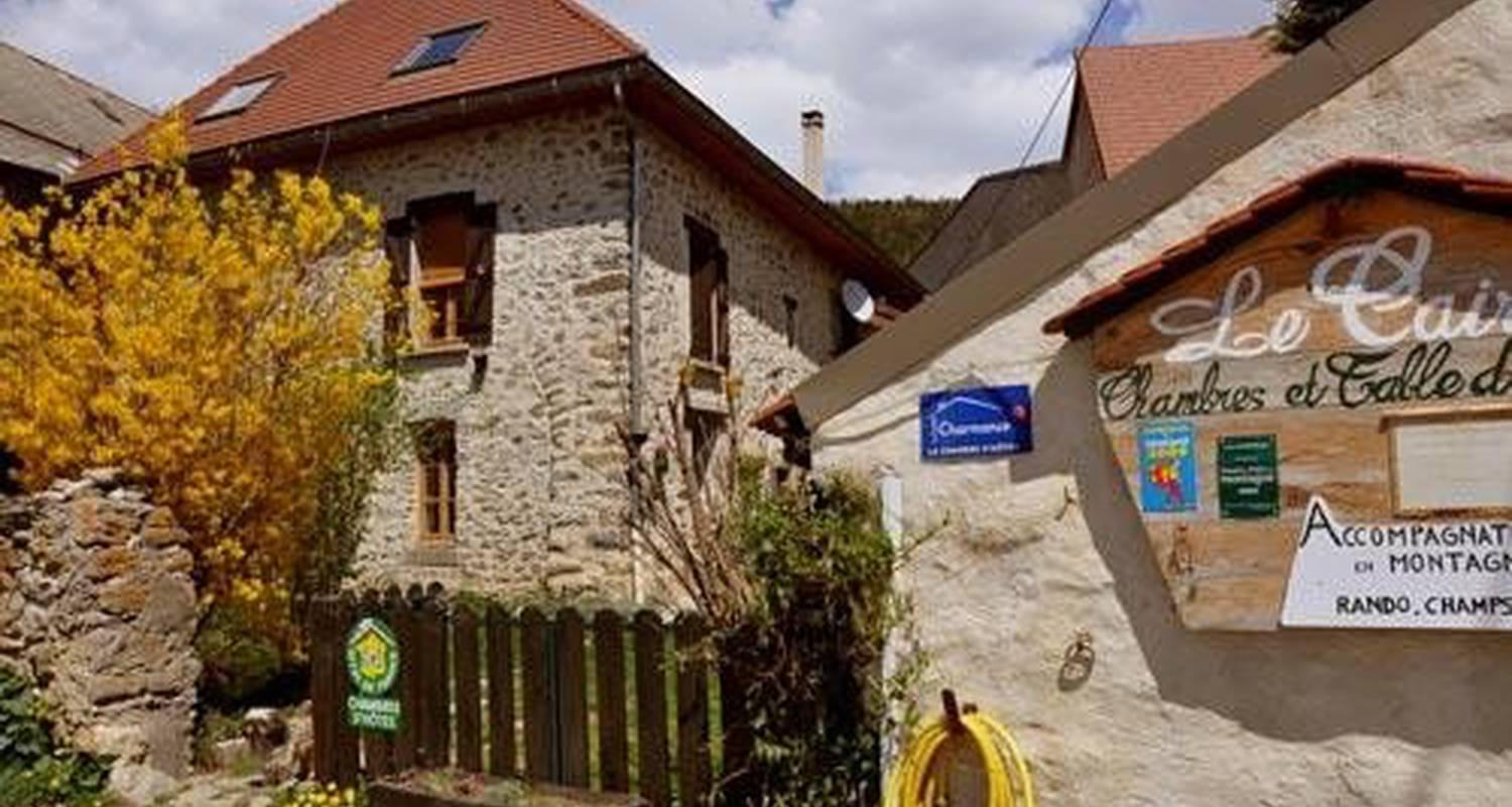 Bed & breakfast: chambres d'hôtes le cairn in saint-bonnet-en-champsaur (101702)