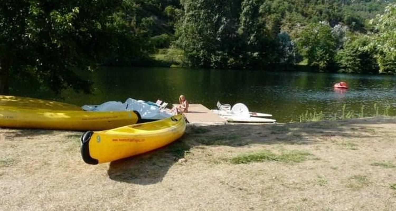 Emplacements de camping: camping le port de lacombe à flagnac (101866)