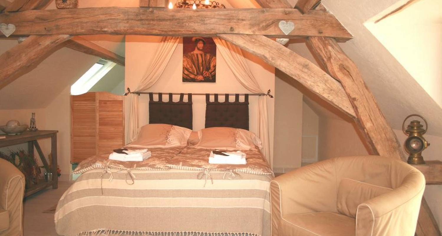 Bed & breakfast: le clos du puits in mosnes (102709)