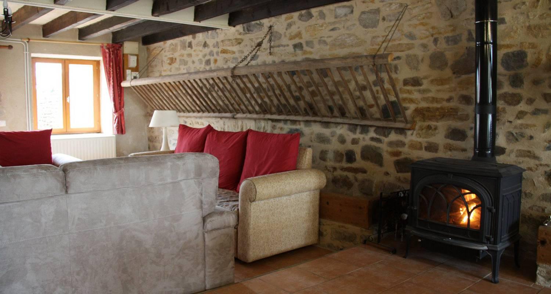 Habitación de huéspedes: la grange de la ferdière en brandon (102745)