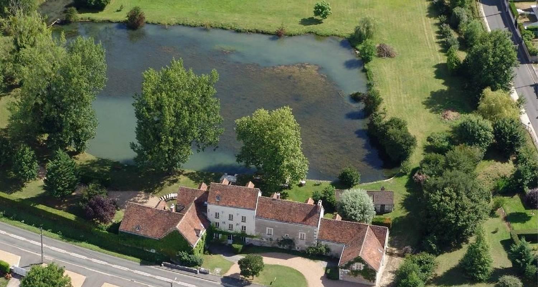 Habitación de huéspedes: moulin du fief gentil en bléré (102992)