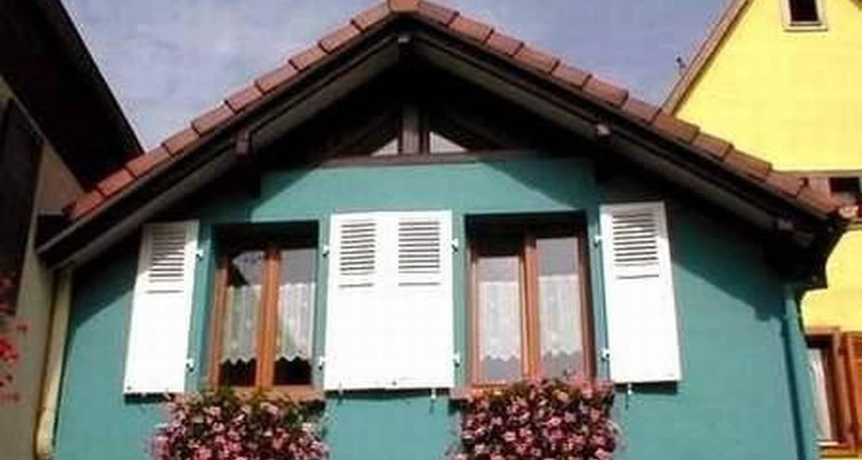 Gîte: gîte la maison bleue  in bergheim (103074)