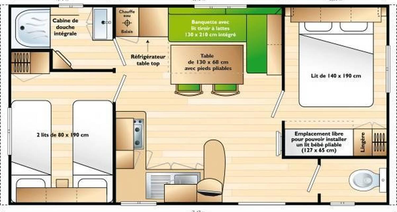 Logement meublé: mobil home vendee 100m mer à la tranche-sur-mer (103477)
