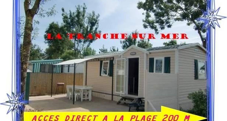 Logement meublé: mobil home vendee 100m mer à la tranche-sur-mer (103478)