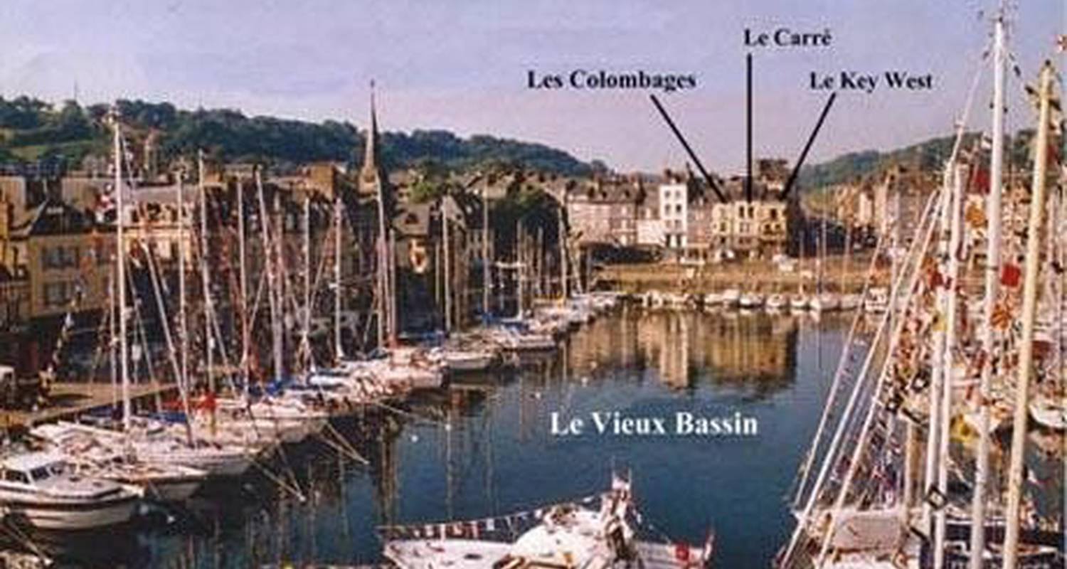 Furnished accommodation: le key west in honfleur (103595)