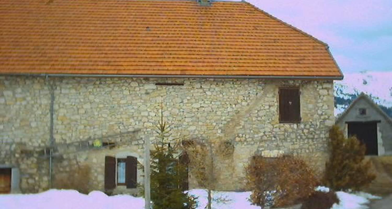 Gîte: gite montagne en vercors in gresse-en-vercors (104148)