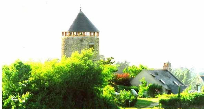 Chambre d'hôtes: moulin géant  à rochefort-sur-loire (104651)