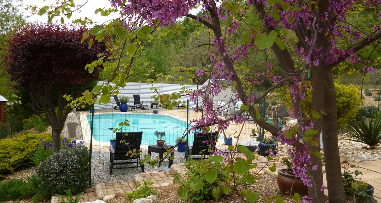 Bed & breakfast: villa de l'adrech in montagnac-montpezat (123654)