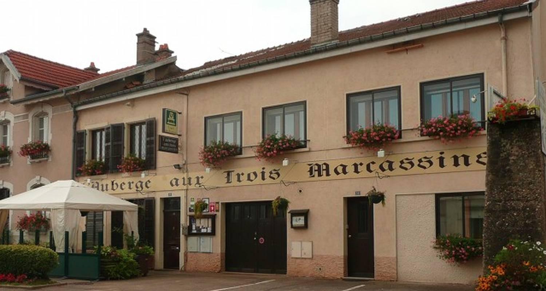 Hôtel:  auberge aux 3 marcassins à belleville (105554)