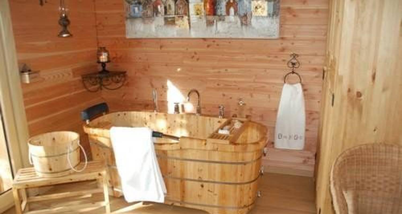 Chambre d'hôtes: cabane perchée insolite à maure-de-bretagne (105582)