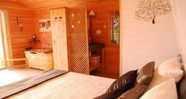Chambre d'hôtes: cabane perchée insolite à maure-de-bretagne (105583)