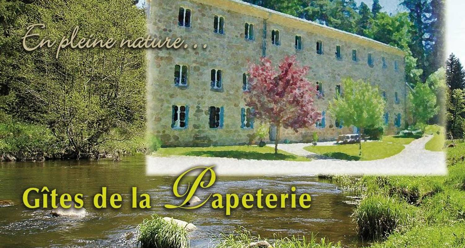 Furnished accommodation: gîte de la papeterie in tence (106705)