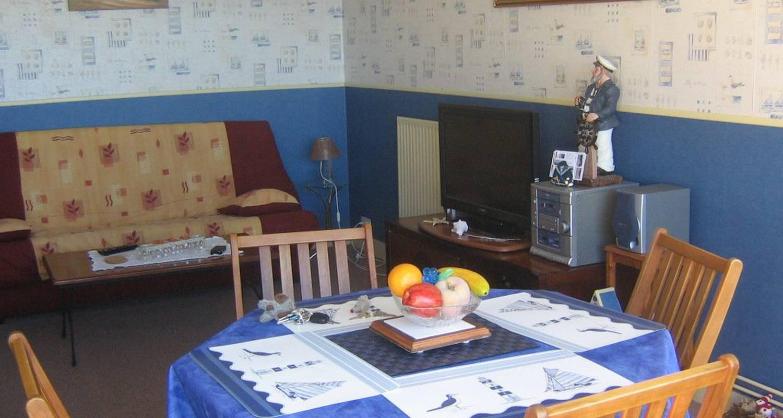 Logement meublé: vacance vue dégagée mer  à luc-sur-mer (107016)