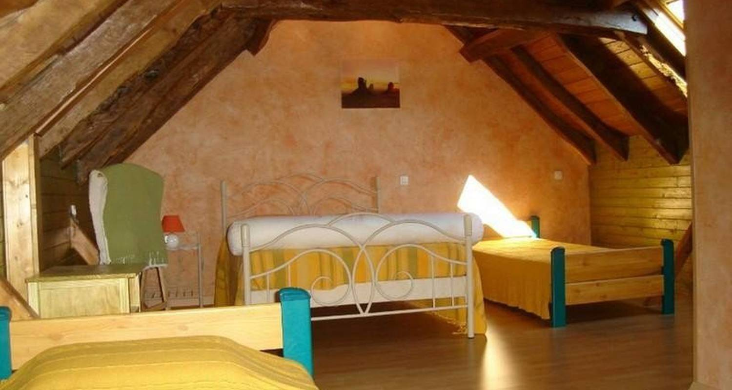 Bed & breakfast: au soleil couchant in anglars-saint-félix (107359)