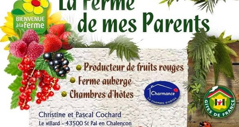 Bed & breakfast: la ferme de mes parents in beaune-sur-arzon (107676)