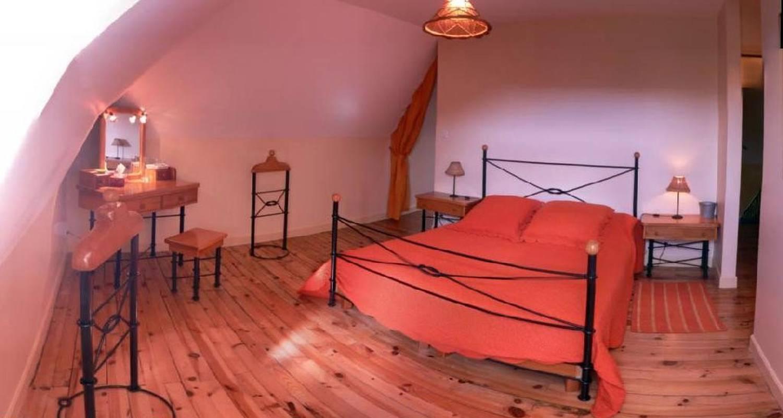 Bed & breakfast: mansion of xix ème century surrounded by meadows in parc naturel régional des volcans d'auvergne between chaîne des puys and massif du sancy.  in rochefort-montagne (108112)