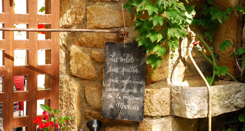 Chambre d'hôtes: maison de marius à quézac (126126)