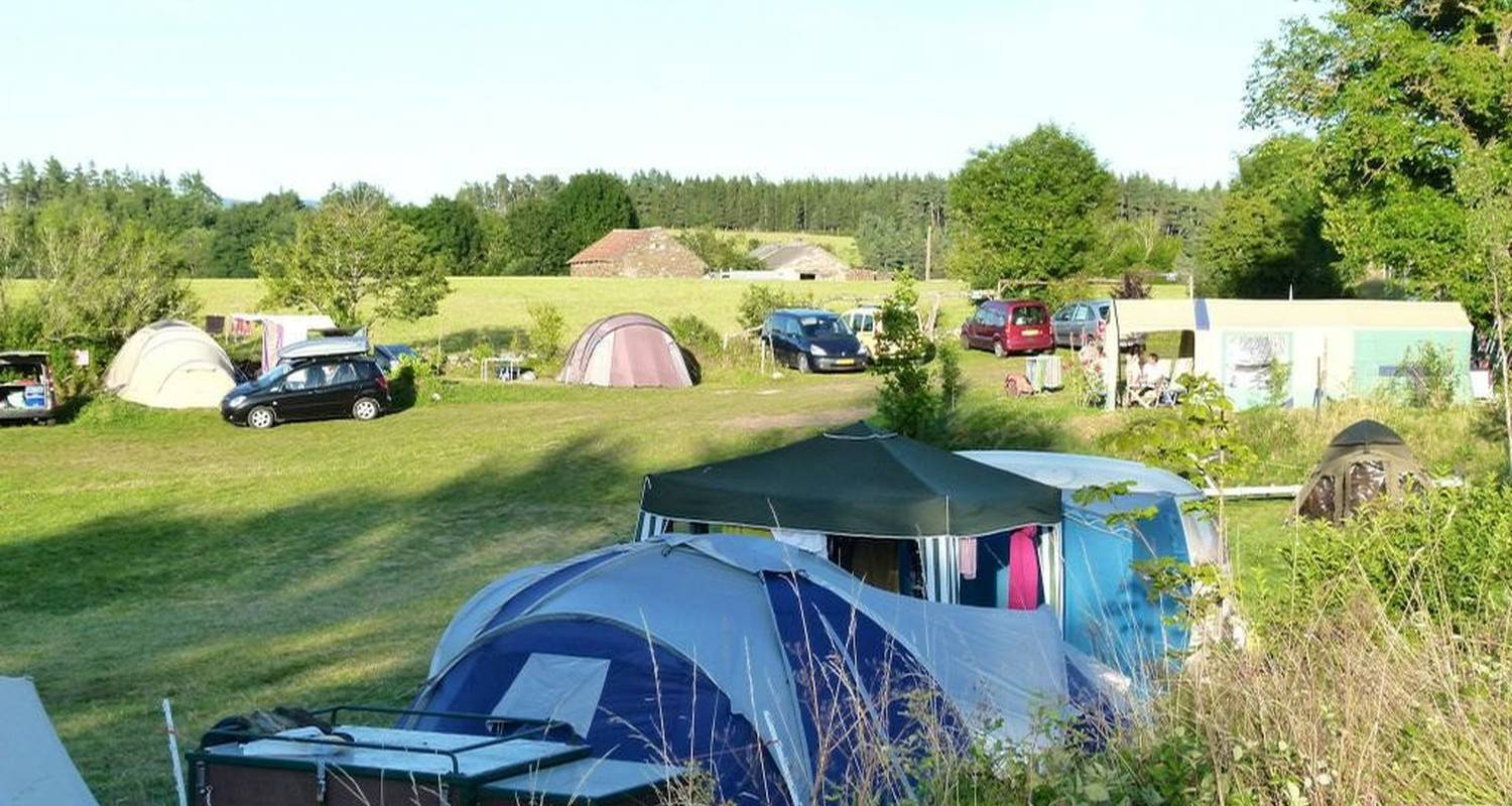 Camping pitches: la source in faverolles (108444)